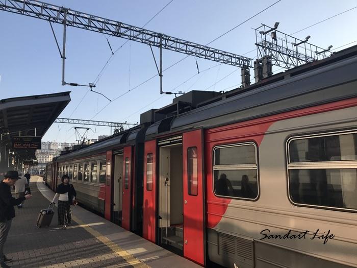 ウラジオストク電車
