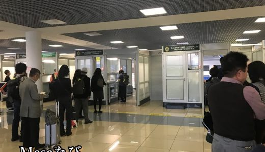 本当にこれだけ!?ウラジオストク空港の入国審査と手荷物受取方法
