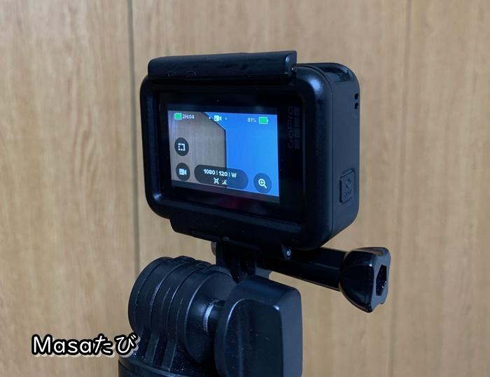 旅行街歩きアクションカメラ